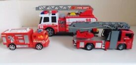 Fireman car toys bundle