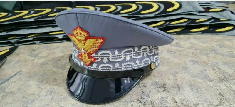 Replica royal Italian army general visor hat