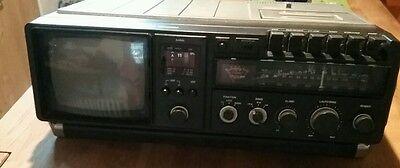 Tragbarer Fernseher,Radio, Cassettenspieler
