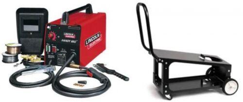 Lincoln K2185-1C Handy MIG 110V MIG Welder with K2275-3 welding cart (NEW)