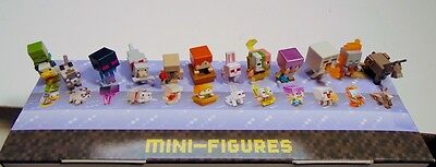Minecraft mini figures NEW Wood 10 series Ship Free! BOGO Get 5th FREE