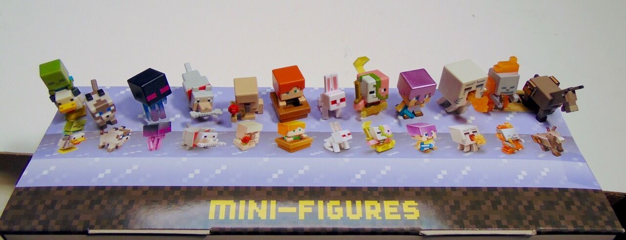 Minecraft mini figures NEW Chest 3 & 4 series Ship Free! BOGO Get 5th FREE