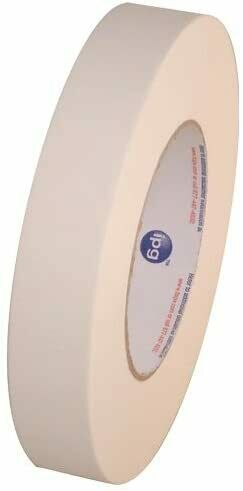 """Intertape 591  1"""" x 36 yds  Double-Coated Paper Tape"""