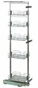 Lee Valley Tools Solid-bottom Pull Out Pantry Unit