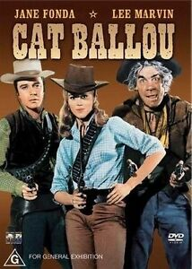 Cat Ballou (Jane Fonda) DVD Region 4 VG Condition