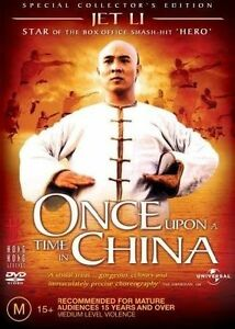 Once Upon A Time In China (DVD, 2005) VG Condition Region 4
