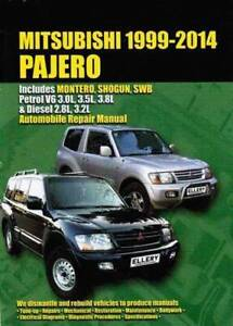 Mitsubishi Pajero Montero Shogun SWB Petrol Diesel 1999 - 2014 Bk Blacktown Blacktown Area Preview
