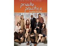 PRIVATE PRACTICE DVDS - SEASON 5