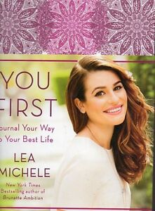 LEA MICHELLE (GLEE & SCREAM) YOU FIRST JOURNAL YOU WAY TO BEST