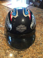 Harley Davidson DJ HD DOT helmet sz Medium