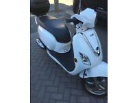 125cc Sym Fiddle III scooter with basket 66 Reg