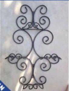Princess House hanging plate holder