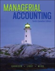 Managerial Accounting 10 Canadian edition new 100%