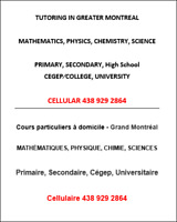 MATH PHYSICS CHEMISTRY Tutoring. Starting from 12$/h.