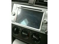Top of the range touch screen stereo system