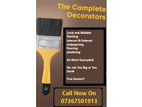 Painter & Decorator-Fair Price For A Good Job Done