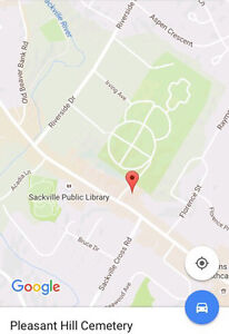 2 cemetery plots in Pleasant Hill cemetery, lower sackville