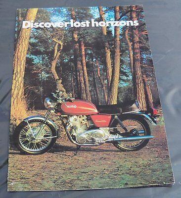 Papers14 - NORTON COMMANDO Genuine Original Poster Interstate Roadster & HiRider