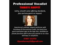 Professional Vocalist available