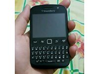 Blackberry 9720, touch screen