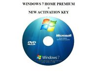 Windows 7 Home Profesional + new activation key