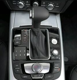 AUDI A3 A4 A5 A6 Q7 Q5 AUTO DSG TRIPTRONIC GEAR LEVER Gaitor leather NEW 2013+