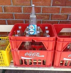 COKE CRATES & HALL BOTTLES & COOEE CRATE & BOTTLES Youngtown Launceston Area Preview