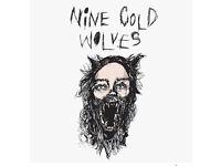 Indie-Folk/Rock Originals band Nine Cold Wolves Looking for Drummer