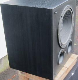 """B&W Active AS6 100 Watt Subwoofer in Good condition For sale is a 12"""" Subwoofer in good condition"""