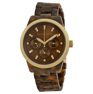 Michael Kors tortoiseshell watch