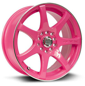 Roues (Mags) RTX Ink Rose 15 pouces 5-105/114.4