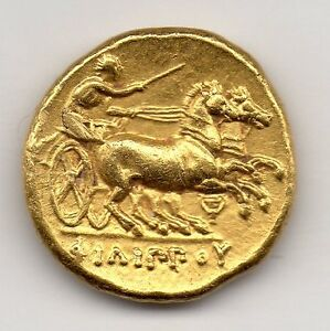 ANCIENT GREEK, KINGS OF MACEDON, PHILIP II, 359-26 BC, GOLD STATER