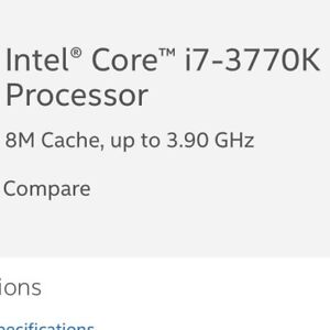 Wanted: i7 3770k CPU