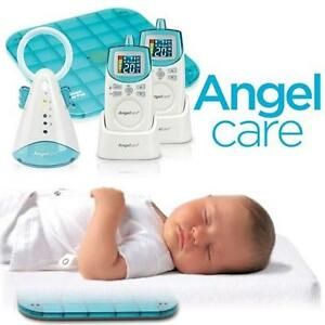 NEW OB ANGELCARE BABY MONITOR KIT Angelcare Movement and Sound Monitor AC401 Deluxe - KIDS - NEW OPEN BOX 104829545