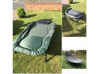 Cyprinus Double 2 man Wide Guy Large 8 leg Carp fishing camp bed chair bedchair