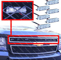 LED gill strobe lights for plow (amber) and firefighters (green)