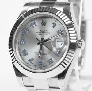 Rolex Datejust II White gold MINT