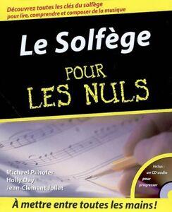 Le Solfège pour les nuls de Michael Pilhofer & Al + CD