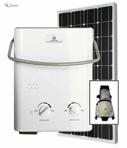 Eccotemp L5 Tankless Water Heater (w/ 12V pump & 100W Solar Kit)