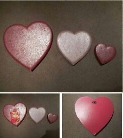 Padded Heart Wall Decorations