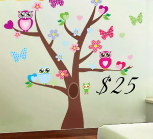 Tree Wall Decal  (New) Easy to use