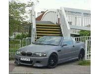 Bmw m3 e46 convertible manual show car head turner bargain