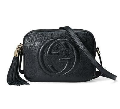 Gucci Soho Disco Crossbody Black Leather Shoulder Bag