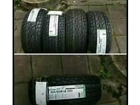 4 brand new tyres