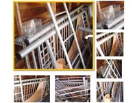 FREE Metal High Sleeper Bed Frame, please see the images for information, ready to go asap FREEBIE !