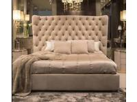 wing bed with luxury memory ortho mattress B