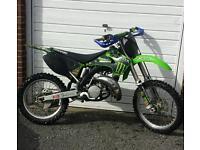 kawasaki kx 125 2003 motorcross bike crosser 85 250 yz cr rm ktm