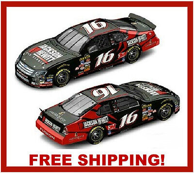 Greg Biffle #16 Diecast 2007 Jackson Hewitt Nascar 1:24 Car FORD Fusion for sale  Shipping to Canada