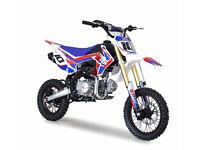 10Ten Dirt Bike MX125R 14/12 Pit Bike