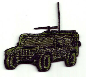 MILITARY-JEEP-HUMMER-IRON-ON-APPLIQUE-PATCH